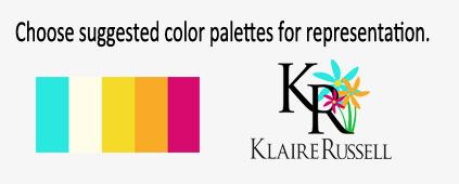 Brands have a color palette.